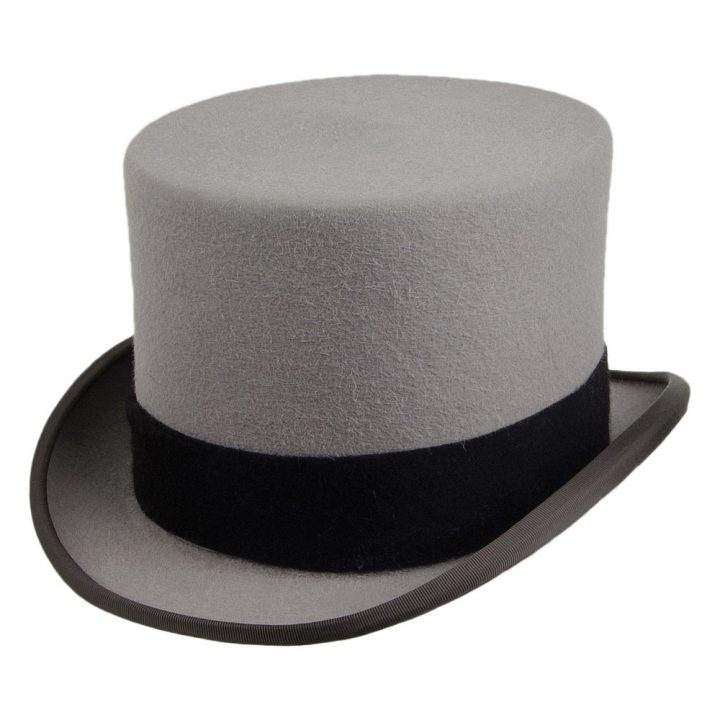 Christys Hats Ascot Fur Felt Top Hat - Hats and Caps