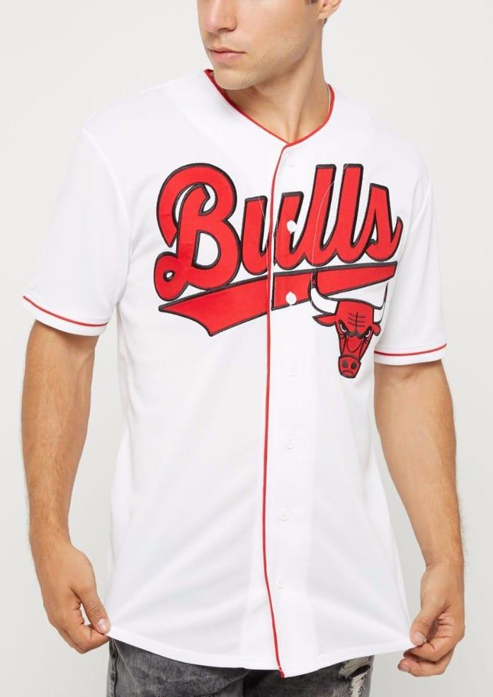 Rue 21 - Chicago Bulls Logo Baseball Jersey