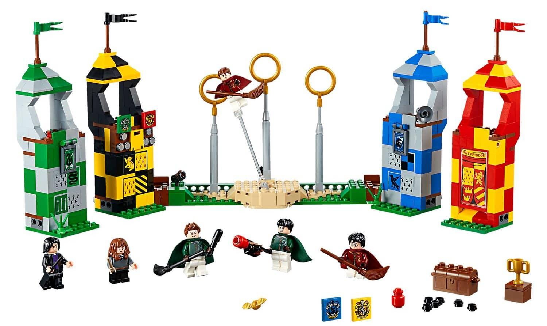 Quidditch Match Lego Figures